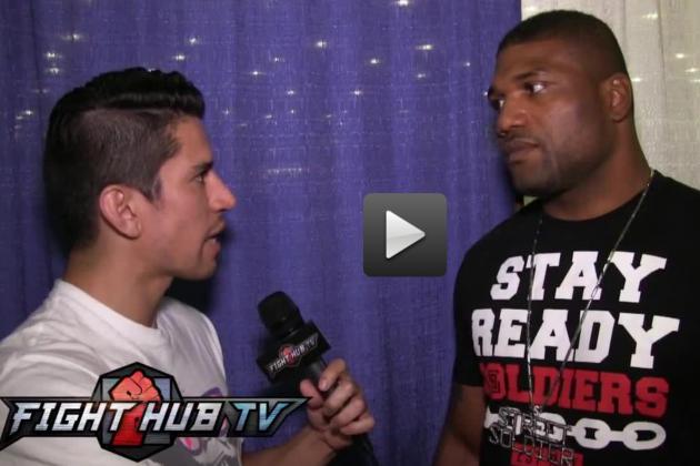 Rampage on Tito Ortiz, Bellator, How Tyrone Spong 'Sucks at MMA'