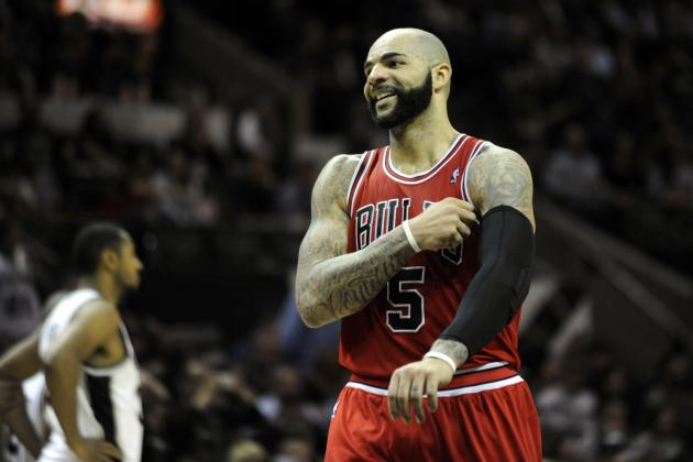 Frustrated Carlos Boozer Sounds off on Lack of Fourth-Quarter Minutes