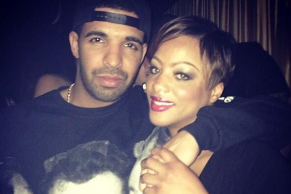 Drake Wears Johnny Manziel Double-Kiss-Photo Sweatshirt to Super Bowl Parties