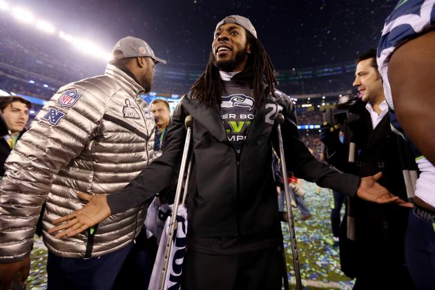 Best Twitter Reactions to Richard Sherman's Performance in Super Bowl XLVIII