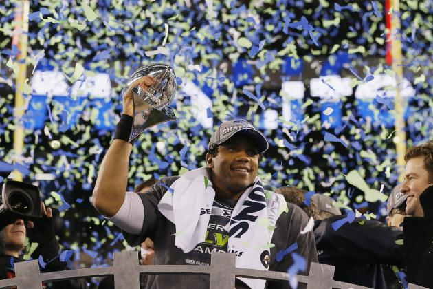 Russell Wilson Discusses 2014 Super Bowl Victory with Rachel Nichols