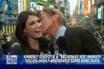 Joe Namath Kisses Divorced Fox News Reporter...