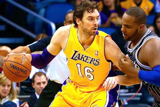 Breaking Down Why Los Angeles Lakers Are Desperate to Trade Pau Gasol