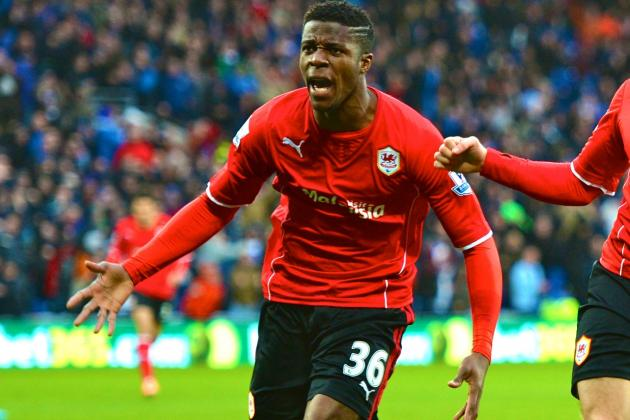 Impressive Debut Is Proof Wilfried Zaha Is Better off at Cardiff Than Man United
