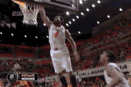 Oklahoma State's Brian Williams Soars Through Defense for Huge Dunk