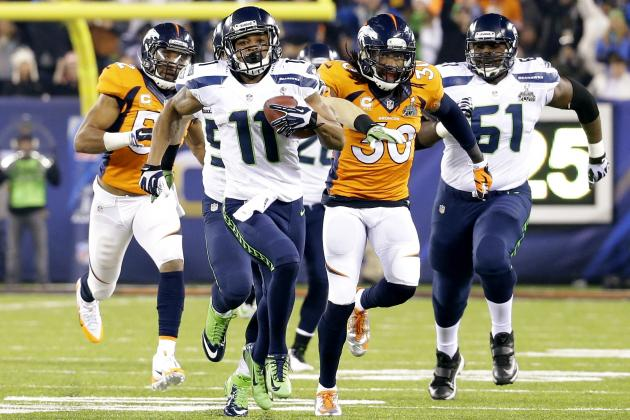 Breaking Down Percy Harvin's Super Bowl Plays for the Seattle Seahawks