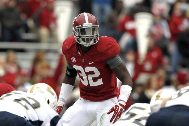C.J. Mosley NFL Draft 2014: Highlights, Scouting Report for Baltimore Ravens OLB