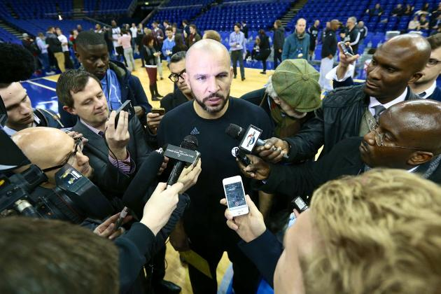 Jason Kidd Embraces Spotlight Not Felt by NBA's Other 8 Rookie Head Coaches