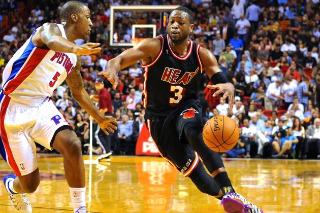 Dwyane Wade, Cooking Again, Has Miami Heat Full of Hope Heading West