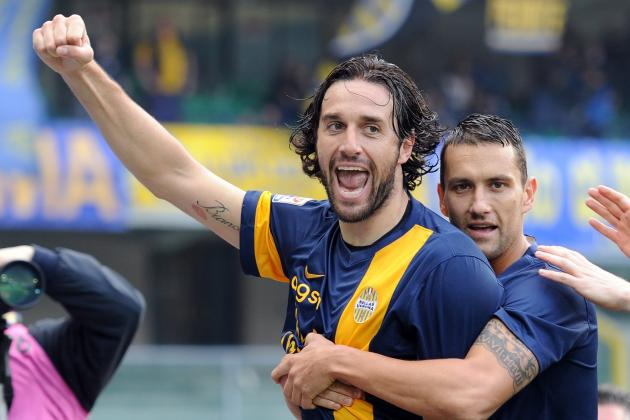 Luca Toni Bringing Joy Back to Hellas Verona