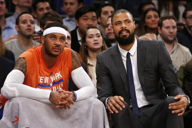 Would New York Knicks Trade Carmelo Anthony or Tyson Chandler First?