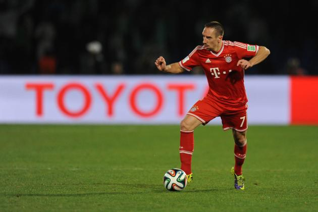 European Team of the Week: Bayern Munich's Franck Ribery in a Class of His Own