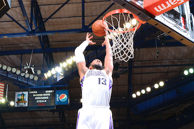 Derrick Williams Bombs Attempt at Throwing Himself off-the-Backboard Alley-Oop