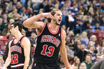 Joakim Noah Ejected from Game vs. Kings, Drops F-Bomb on Each Ref Before Exit