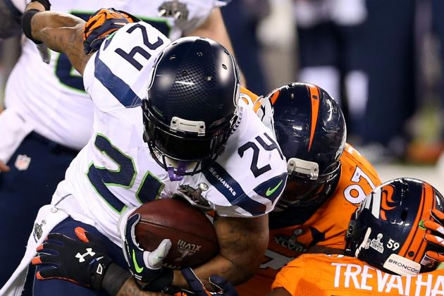 Twitter Reactions to Marshawn Lynch's Media Performance in Super Bowl XLVIII