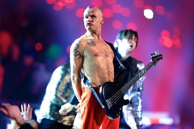Red Hot Chili Peppers Did Not Plug in Their Guitars for Super Bowl Halftime Show
