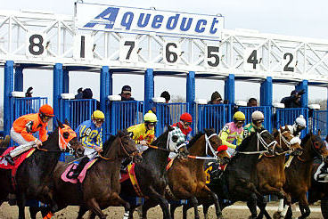Aqueduct Cancels Monday Racing Due to Snow
