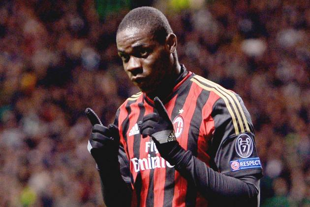 Why AC Milan Striker Mario Balotelli Is Unlikely to Sign for Arsenal