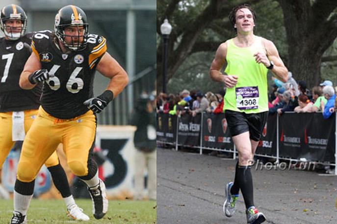 Former NFL Offensive Lineman Alan Faneca Drops 100 Lbs, Runs Marathon