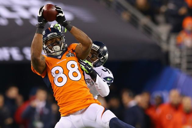 Demaryius Thomas Played Through Separated Shoulder in Super Bowl