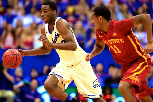 Andrew Wiggins' Inconsistent Play Won't Hurt 2014 NBA Draft Stock