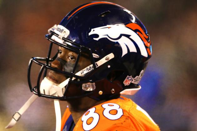 Demaryius Thomas Injury: Updates on Broncos WR's Shoulder and Recovery