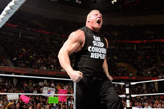 Including Brock Lesnar in WrestleMania Main Event Would Be Best Way to Book Star