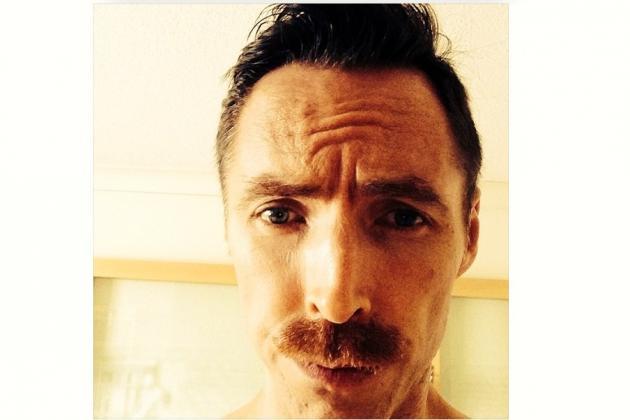 Steve Nash Sculpts a Mustache out of Survivor Beard for Return to Lakers