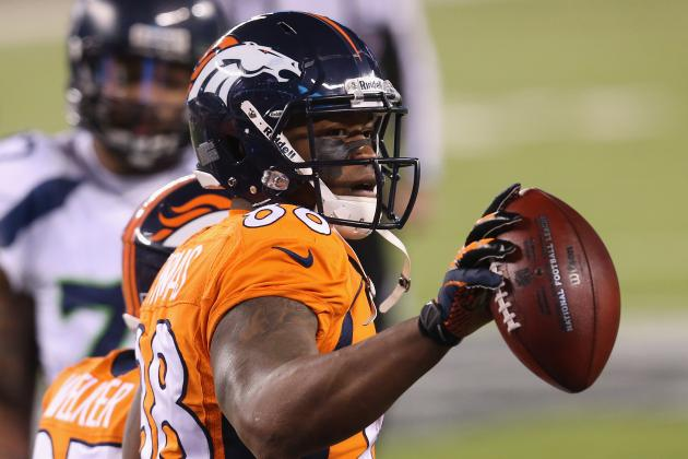 Demaryius Thomas Sets Super Bowl Record with 13 Receptions