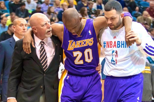 Jodie Meeks Injury: Updates on Lakers Guard's Ankle and Return