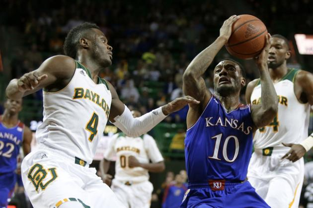 Kansas Rolls over Baylor 69-52 in Waco