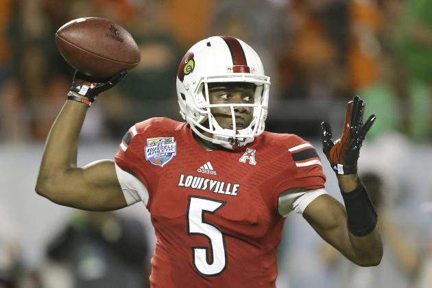 Teddy Bridgewater Scouting Report: NFL Outlook for Louisville QB