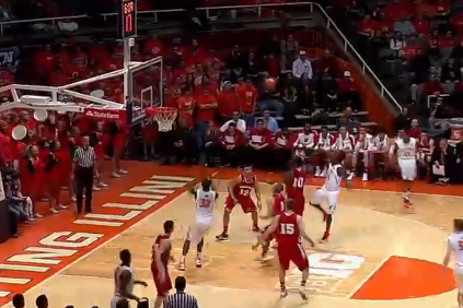 Video: Nunn Draws D for Lob to Egwu