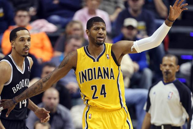 Paul George Keeps Treating Pacers Games Like the Dunk Contest