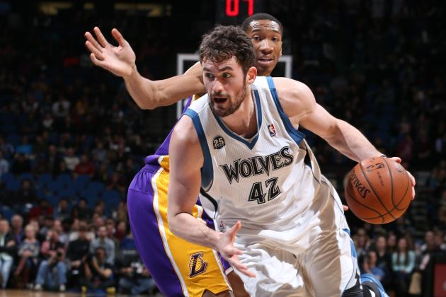 Minnesota Fans Plead with Kevin Love to Stay While T-Wolves Play LA Lakers