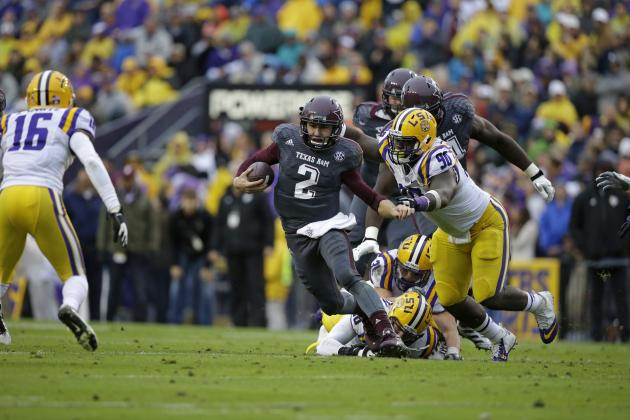 Johnny Manziel Scouting Report: NFL Outlook for Texas A&M QB
