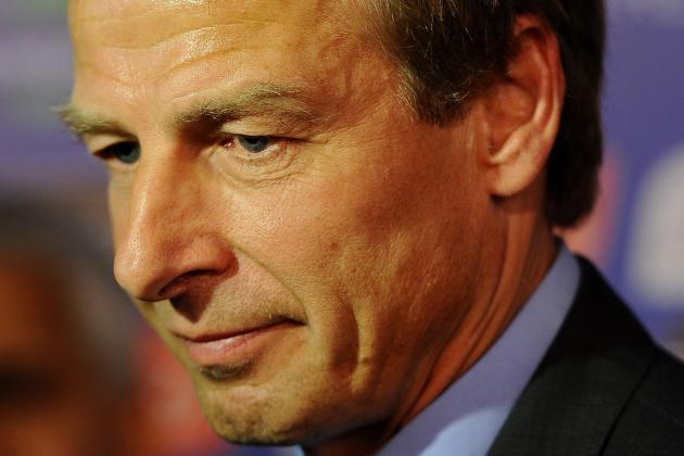 Jurgen Klinsmann Complimentary of USMNT Youngsters