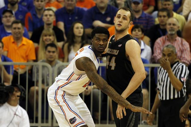 Frazier, Gators Pull Away to Dump Mizzou