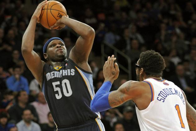 Why Zach Randolph Has Been the Memphis Grizzlies' MVP so Far