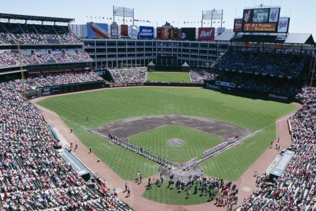 Rangers to Announce Naming Rights Partner for the Ballpark