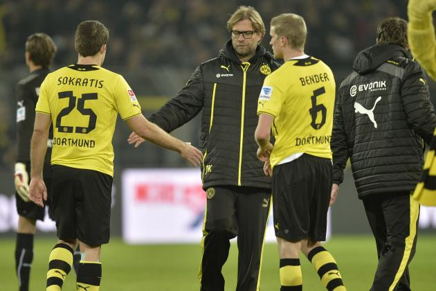 How Borussia Dortmund Will Line Up Against Werder Bremen