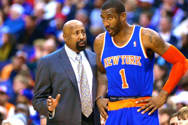 Amar'e Stoudemire Latest Knick to Call Out Mike Woodson