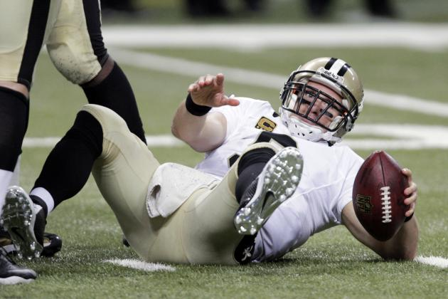Why Drew Brees Needs the Saints to Draft an OT Early in 2014