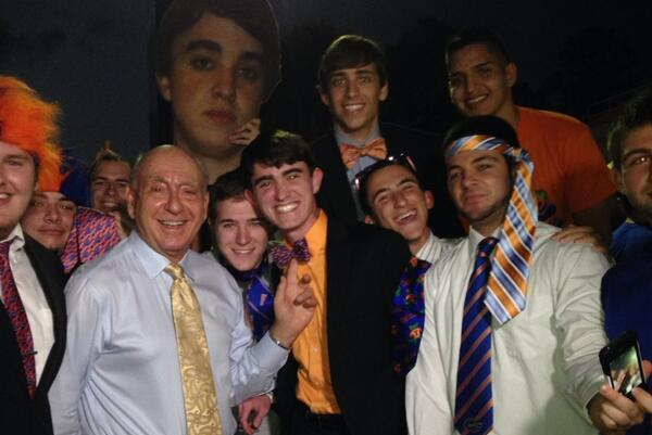 Florida Basketball Fans Wear Suits and Ties in Sad Attempt to Impress