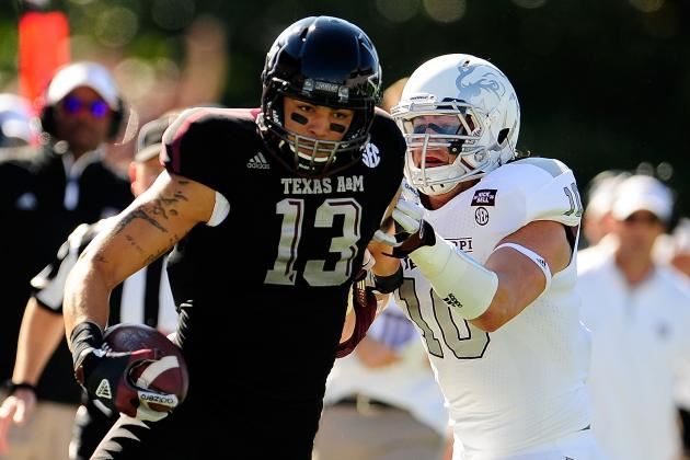Mike Evans Determined to Make Case He's the Best Receiver in the 2014 NFL Draft