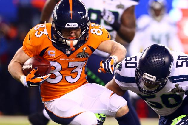 Welker Told Broncos: We're the Best Offense Ever, Start Showing It