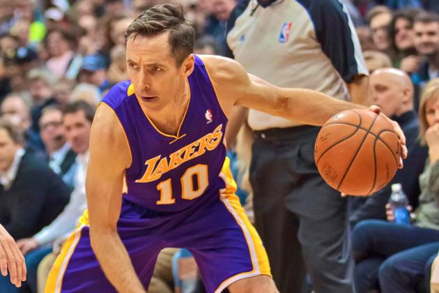 Steve Nash Returns to LA Lakers, NBA for as Long as He Can