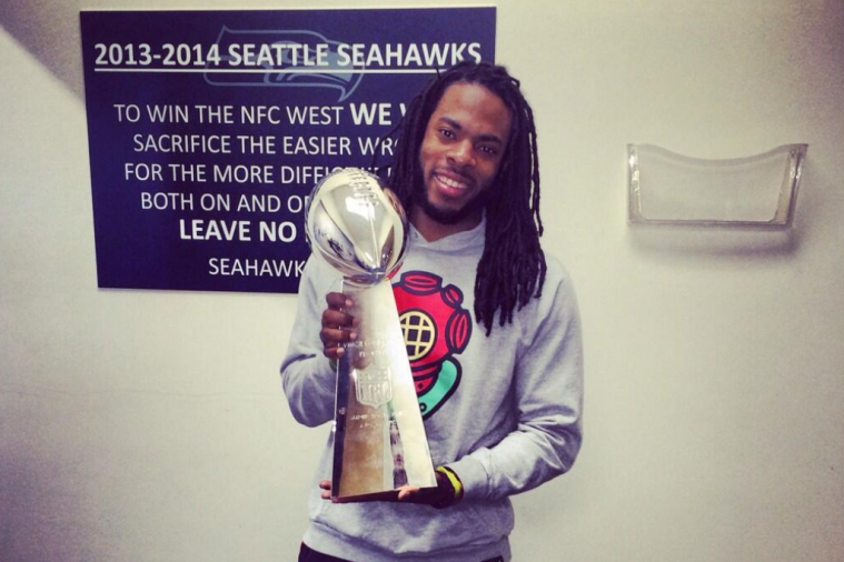 Richard Sherman Responds to Twitter Troll in the Best Way Possible