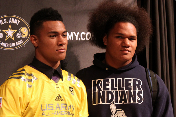 Sione, Maea Teuhema Commit to LSU One Day After Decommitting from Texas