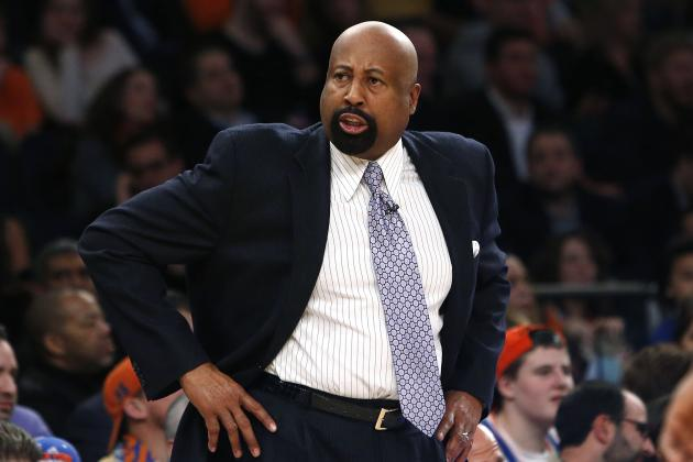 NY Knicks Reportedly Considering Firing Mike Woodson Before 2014 Trade Deadline